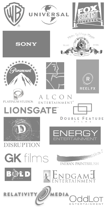 We are a network of film and TV consultants from over 30 companies: