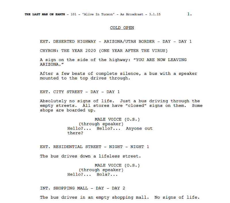 camera script template - single camera vs multi camera tv sitcom scripts what 39 s