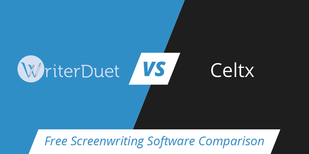 free screenwriting software review and comparison writerduet vs