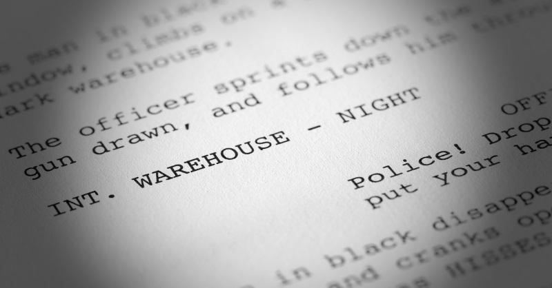 Big screenplay analyst babe